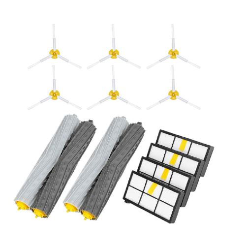 Side Brosse et Filtres Hepa et Bristle Brosse de Rechange pour I-Roombas 900 960 980 Xcq486