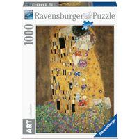 Puzzle Ravensburger Klimt Gustav Le baiser 1000 Pièces