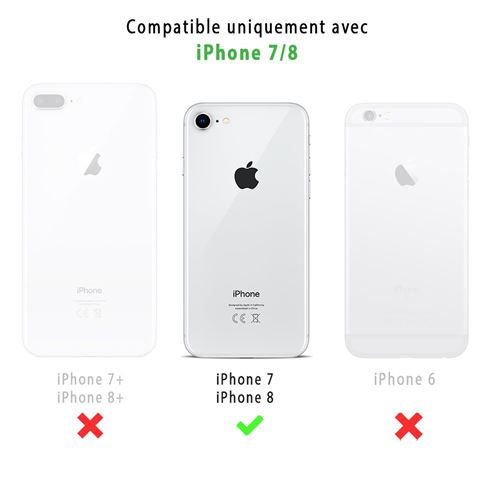 coque iphone 7/8 compatible iphone 6