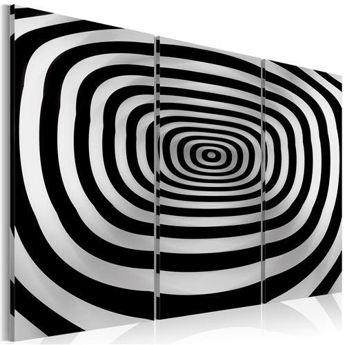 Tableau | art optique | 120x80 | Abstraction | abîme | |