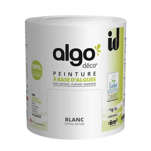 Peinture à Base D'algues Algo Satin Blanc 500ml