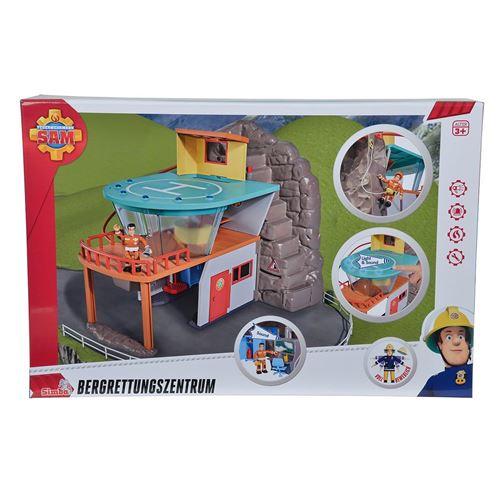 Simba Toys 109251003 Pompier Sam Montagne sauvetage avec figure