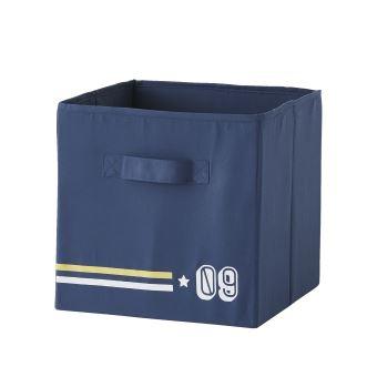 Vertbaudet Les 3 Bacs De Rangement As Du Volant Bleu Jean Imprime Tu Rangement Enfant Achat Prix Fnac