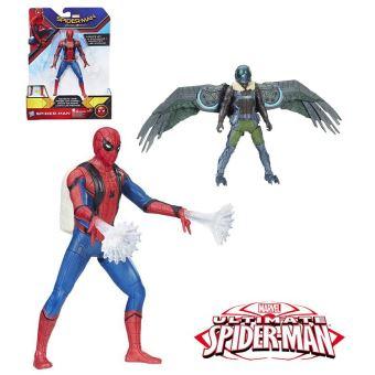 Calendrier De L Avent Spiderman.Spiderman Figurine Lance Fillets 2 Modeles 15 Cm