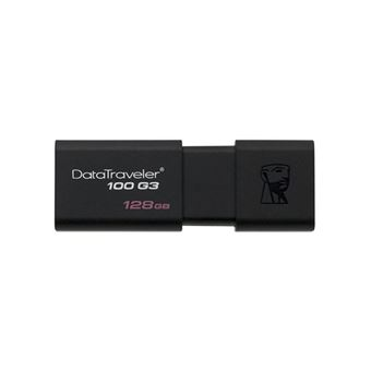 Kingston DataTraveler 100 G3 - clé USB - 128 Go