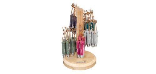 opinel - op002225 - présentoir n°06 - colorama 60 couteaux