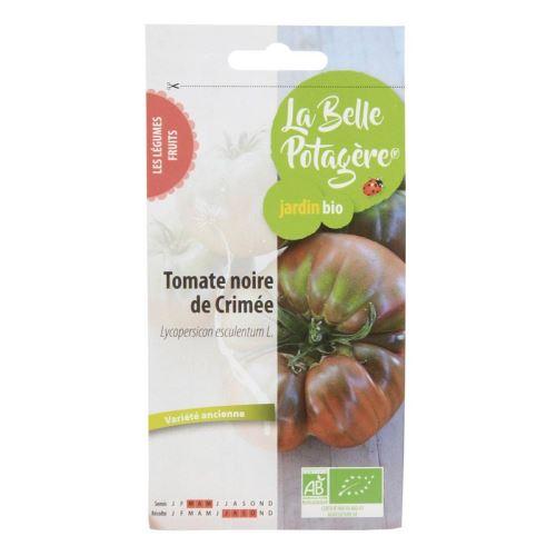 Graines à semer - Tomate Noire de Crimée - 0,15 g - La Belle Potagère