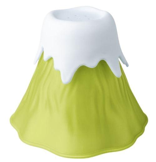Balvi nettoyant pour micro-ondes Volcano 14 cm vert/blanc