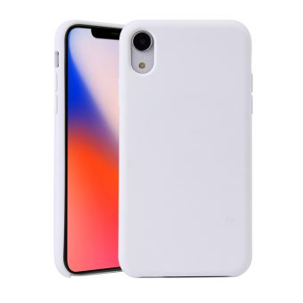 coque blanche silicon iphone xr