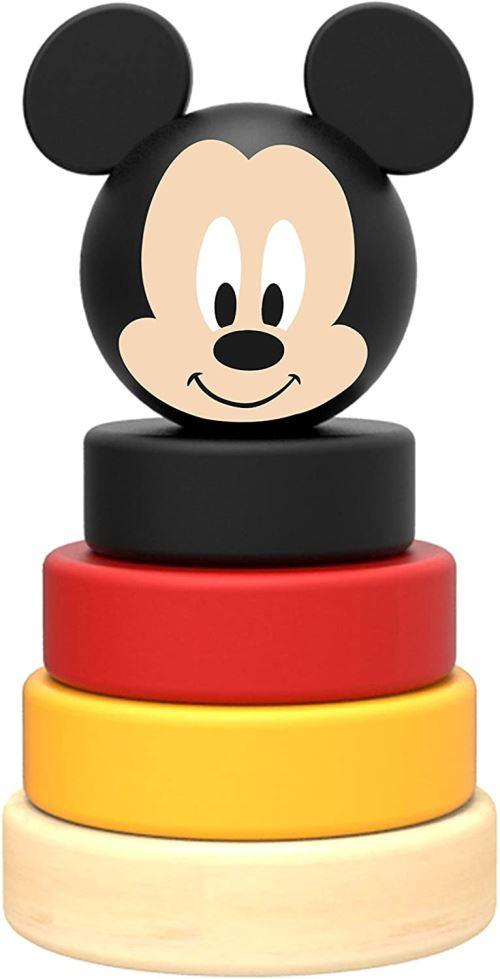 Disney tour d'empilage Mickey Mouse junior 10 cm bois 5 pièces