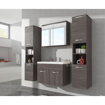 Meuble de salle de bain paso xl armoire de rangement meuble lavabo vier meuble lavabo bodega - Achat lavabo salle de bain ...