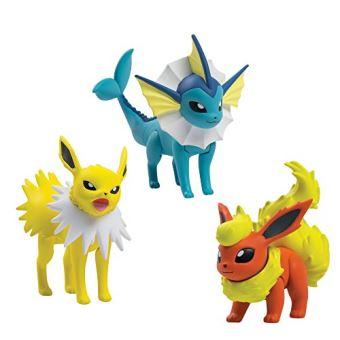 Pack de 3 figurines Pyroli - Voltali - Aquali