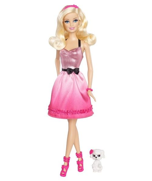 Mattel Poupée Barbie Et Son Chien
