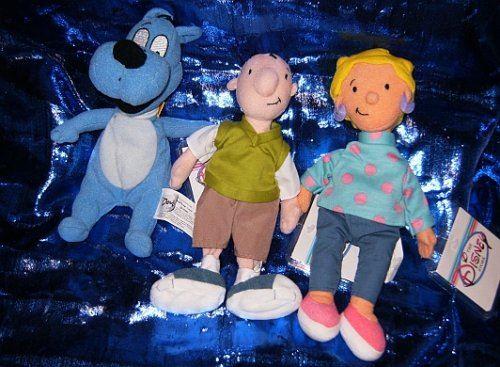 Ensemble de 8 bonnets Disneys Doug and Friends