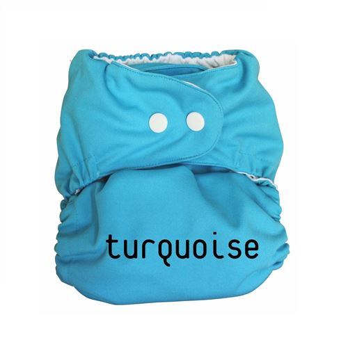 Couche lavable So Easy Couleur - Turquoise, Taille - 2