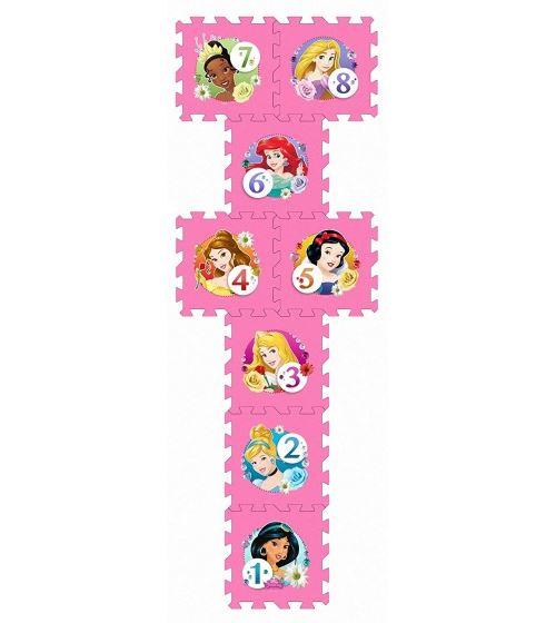 Disney Puzzle de sol Princess rose 8 pièces