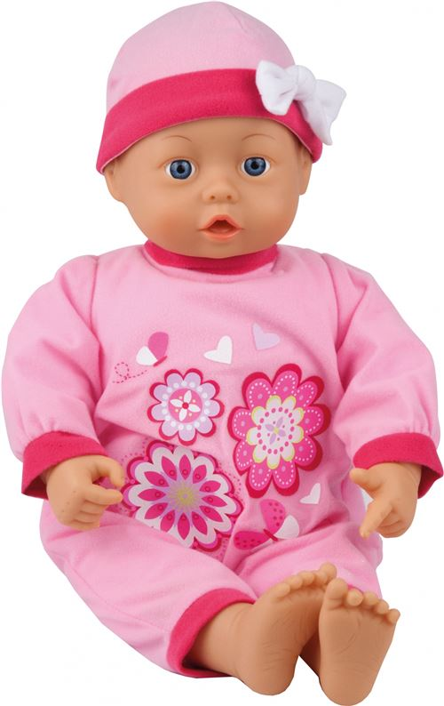 Bayer nuisette First Words rose 46 cm