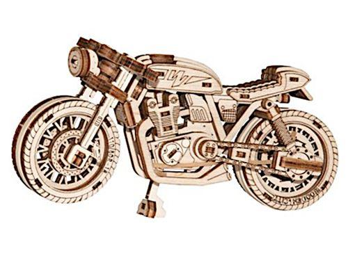 Wooden City kit de maquette Racer 14 cm bois naturel 85-pièces