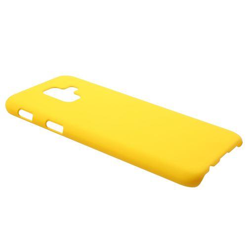 samsung a6 plus coque silicone jaune