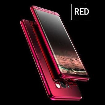 coque 360 samsung s8 plus rouge