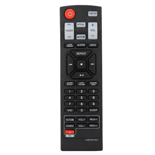 Télécommande de remplacement Audio pour LG Soundbar AKB73575421 SOUND BAR NB3530A NB4530A