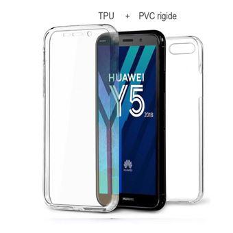 Coque Huawei Y5 2018 avant & arrière 360° transparent