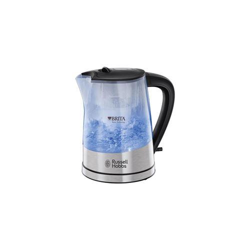 Russell Hobbs Purity Brita 22850-70 - Bouilloire - 1 litre - 2200 Watt - accents en acier inoxydable