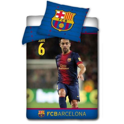 Parure de lit Xavi FC Barcelone 100% coton