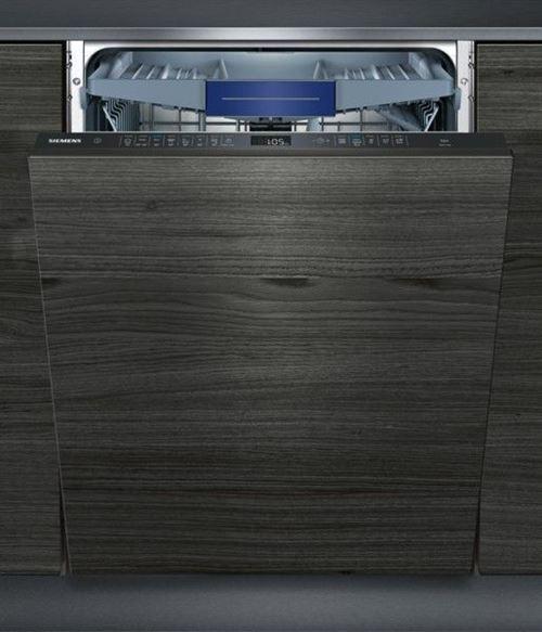 Siemens iQ500 speedMatic SX658D02ME - Lave-vaisselle - intégrable - Niche - largeur : 60 cm - profondeur : 55 cm - hauteur : 86.5 cm - noir
