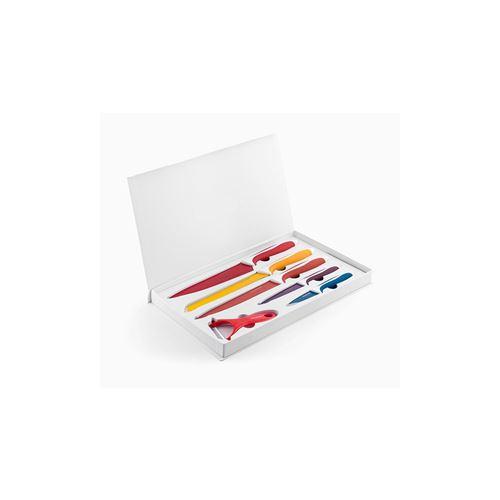 Kit couteaux céramique - 6 piÈces