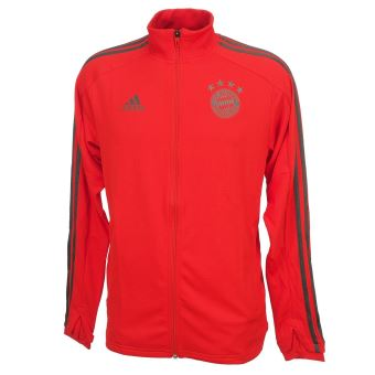 Vestes replica officielle Adidas Bayern veste h 201819 Rouge taille : M réf : 39003