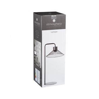 Abat Jour Métal Ajouré lampe à poser design - abat-jour en métal - noir - achat & prix | fnac