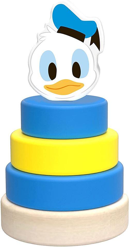 Disney tour d'empilage Donald Duck junior 10 cm en bois 5 pièces
