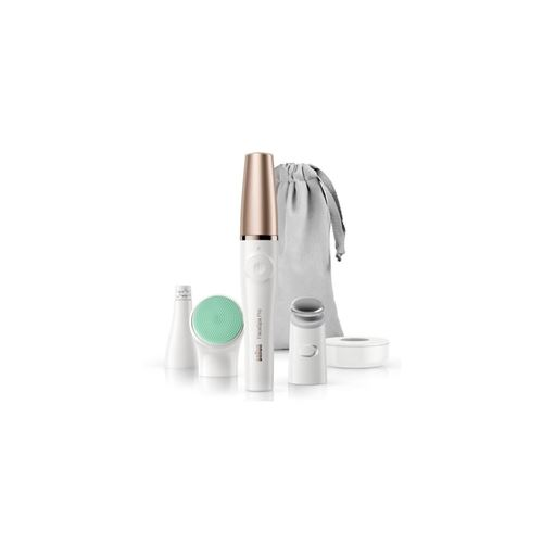 Braun FaceSpa pro 913 - épilateur visage, brosse nettoyante et brosse vitalisante - Un produit 3 en 1 unique pour un visage impeccable - Pour une épilation précise, un nettoyage des pores en profondeur, un adoucissement de la peau et une activation de la