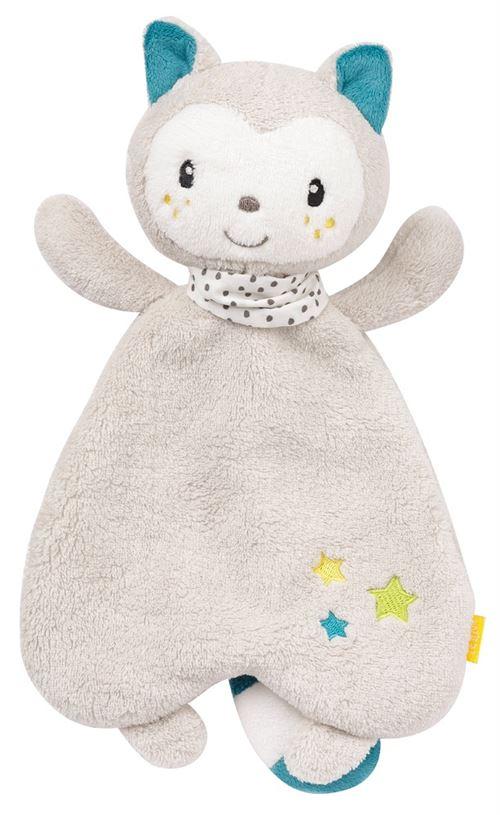 Fehn Aiko & Yuki couverture câline chaton 30 cm gris