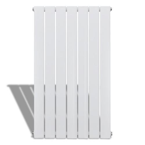 Radiateur chauffage panneau blanc hauteur 90 cm largeur 54,2 cm pratique design moderne et élégant