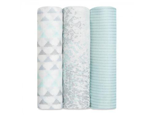 Aden and Anais - Maxi langes métalliques silky soft