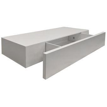 watsons hidden tag re murale avec tiroir blanche. Black Bedroom Furniture Sets. Home Design Ideas