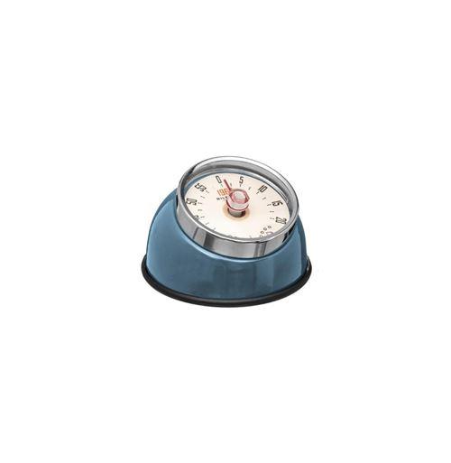 Minuteur Magnet Colors 8cm Bleu