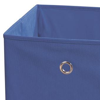 magasin d'usine ff8cb 2177d Boîte de rangement carrée cubique avec œillet pour étagère ...