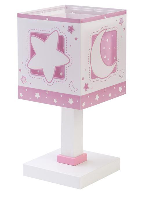 Dalber lampe à poser Moonlight rose 29 cm