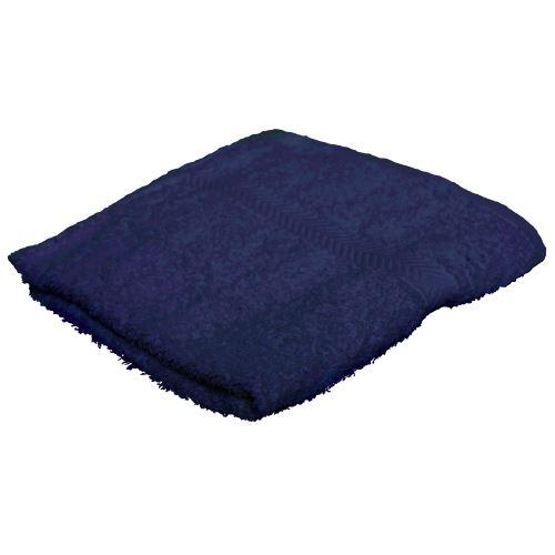 Towel City - Serviette de toilette 100% coton (50 x 90cm) (Taille unique) (Bleu marine) - UTRW1585