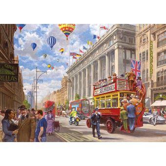 gibsons oxford street londres de l epoque et le present puzzle
