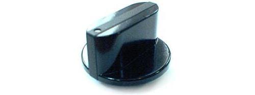 Bouton noir 12h gaz pour Table de cuisson Sauter