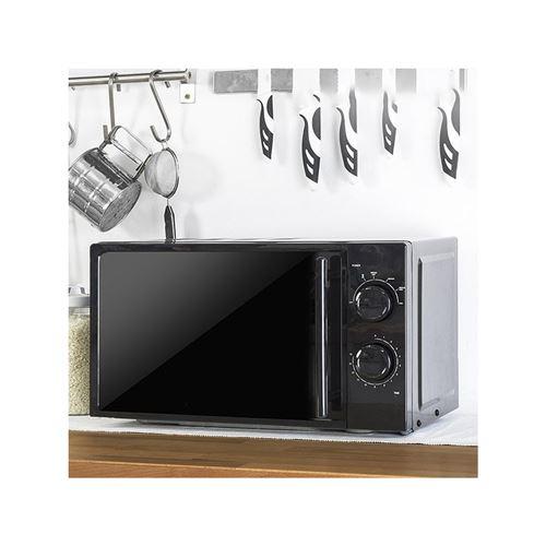 Cecotec 01367 - Four micro-ondes monofonction - pose libre - 20 litres - 700 Watt - noir