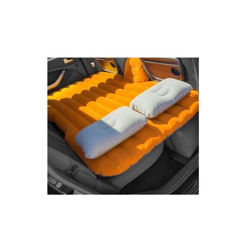Matelas gonflable pour voiture - 86 x 40 x 135 cm - PVC - Orange