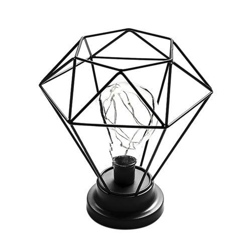 Fer Lampe créatif Bureau Chambre Décoration Photographie Prop lampe_Home13