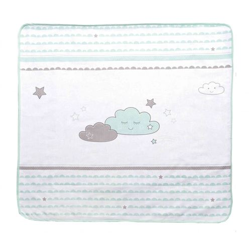 Couverture 100% coton collection 'Happy Cloud' Roba - 80x80cm