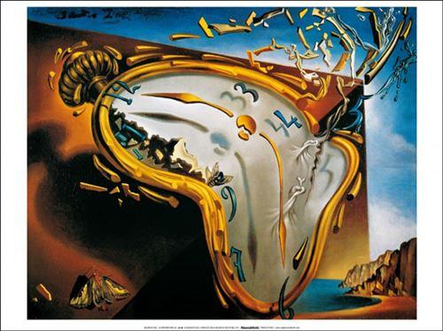 vente en ligne acheter maintenant Découvrez Salvador Dali Poster Reproduction - Les Montres Molles (50x70 cm)