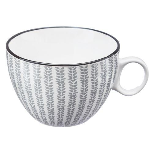 Tasse design Japon - 380 ml - Gris